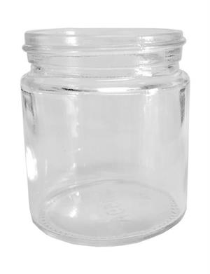 4 oz Flint Straight Sided Jar 58-400CT